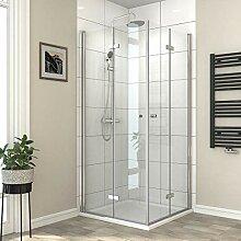 Safeni duschkabine eckeinstieg Dusche Doppelt