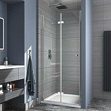 Safeni Duschtür Duschkabine, 90x185cm Duschwand