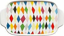 Sagaform Butterdose, Keramik, bunt 20x11.5x8 cm