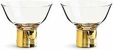 Sagaform Club Cocktailglas, Nylon/A, 2 Stück