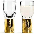 sagaform Club Schnapsglas gold, 2er-Set - 1 Set