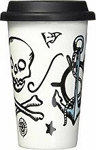 Sagaform Coffee-to-go Becher, Porzellan,