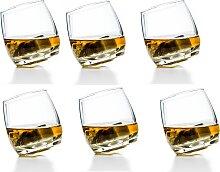 sagaform ROCKING Whiskyglas 6er-Set