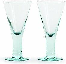 Sagaform Weinglas, Glas, 19 cm