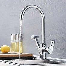 Sagetta Hoher Auslauf Küchenarmatur Ausziehbar