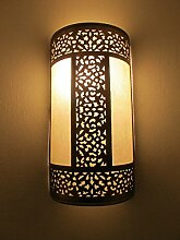 Saharashop Marokkanische Wandlampe Deluxe Fes