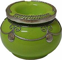 Saharashop Marokkanischer Windaschenbecher Keramik