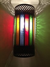 Saharashop Orientalische Wandlampe Tiznit Multi