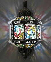 Saharashop Orientalische Wandlampe Transparen