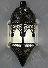 Saharashop Orientalische Wandlampe Yara Milchglas