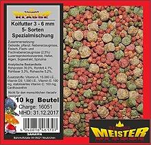 SAHAWA® - 46176 Koifutter 3 -6 mm 5 Sorten