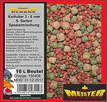 SAHAWA® 46110 Koifutter 3 -6 mm 5 Sorten