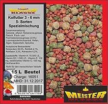 SAHAWA ® 46115 Koifutter 3 -6 mm 5 Sorten