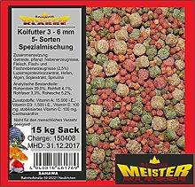 SAHAWA® 46176 Koifutter 3-6 mm 5 Sorten