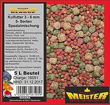 SAHAWA® 46176 Koifutter 3 -6 mm 5 Sorten