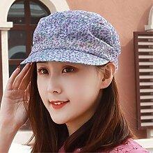 SAIBANGZI flache Hut Sonnenhut Sonnenschutz Hut