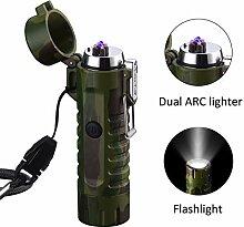 Saibit Elektrisches Feuerzeug und Taschenlampe in