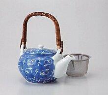 Saikai Keramik kyūsu (Kleine Teekanne) sumihajiki