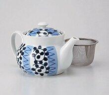 Saikai Keramik Kyusu (kleine Teekanne)