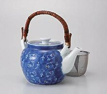 Saikai Pottery 68610 Kyouka Net Teekanne aus Japan