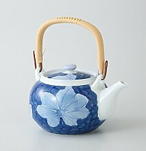 saikai Pottery Kyusu (kleine Teekanne) Noyosai 6go