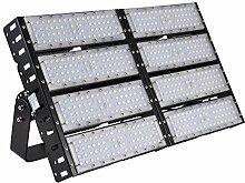 SAILUN 400W Tunnel LED Fluter Außenleuchte Scheinwerfer Strahler Flutlicht Scheinwerfer Wandstrahler IP65 (400W, Kaltweiß)
