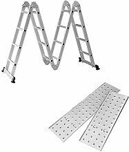 SAILUN® 6 in 1 Anlegeleiter 4.7M Leiter