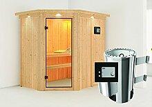 Saja - Karibu Sauna Plug & Play inkl. 3,6 kW-Ofen