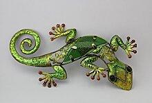 Salamander Dekoration 22 cm grün