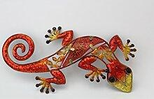 Salamander Dekoration 22 cm orange
