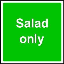 Salat nur Zeichen für HSE Gesundheit & Sicherheit