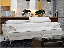 SALE - 3-Sitzer Sofa Voltaire - Weiß