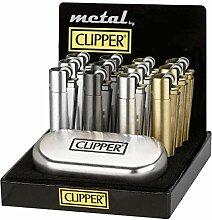 Sale! Clipper Micro Metall Beige Feuerzeug Edel in