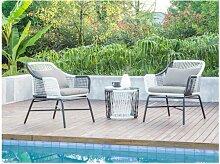 SALE - Garten Sitzgruppe ALMADA - Polyrattan &