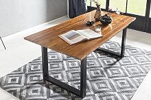 SalesFever Baumkantentisch, Sichtbare Maserung und
