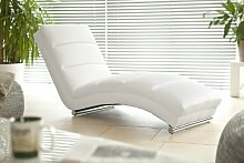 SalesFever Designer-Liege Chaise-Longue aus