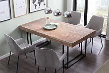 SalesFever Esstisch, mit Design Kufen-Gestell