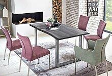 SalesFever Esszimmer-Tisch 140x80 cm | Akazie |