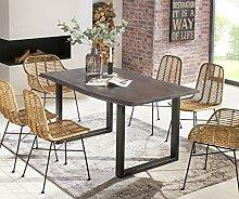 SalesFever Esszimmer-Tisch 200x100 cm | Akazie |