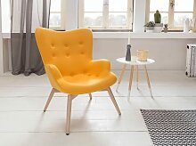 SalesFever Relaxsessel, mit dekorativer