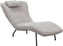 SalesFever Relaxsessel, mit modernem Cord Bezug,