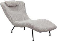 SalesFever Relaxsessel, mit modernem Cord Bezug