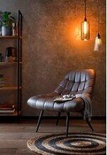 SalesFever Relaxsessel, XXL-Sitzfläche mit