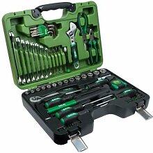 Salki 8920078–Koffer Werkzeuge Heimwerker 78Pcs