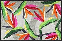 Salonloewe Fußmatte Bloom Parrot Flower 050x075