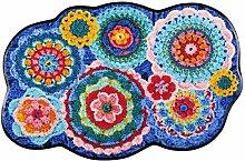 Salonloewe Fußmatte Crochet S60x090 Fußabtreter