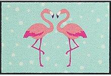 Salonloewe Fußmatte Flamingo Heart 050x075
