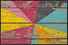 Salonloewe Fußmatte Graphic Wood 050x075