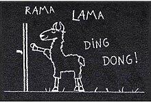 Salonloewe Fußmatte Rama Lama Ding Dong 050x075
