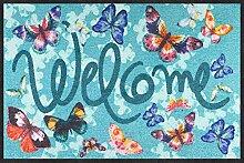 Salonloewe Fußmatte Welcome Butterfly Dream
